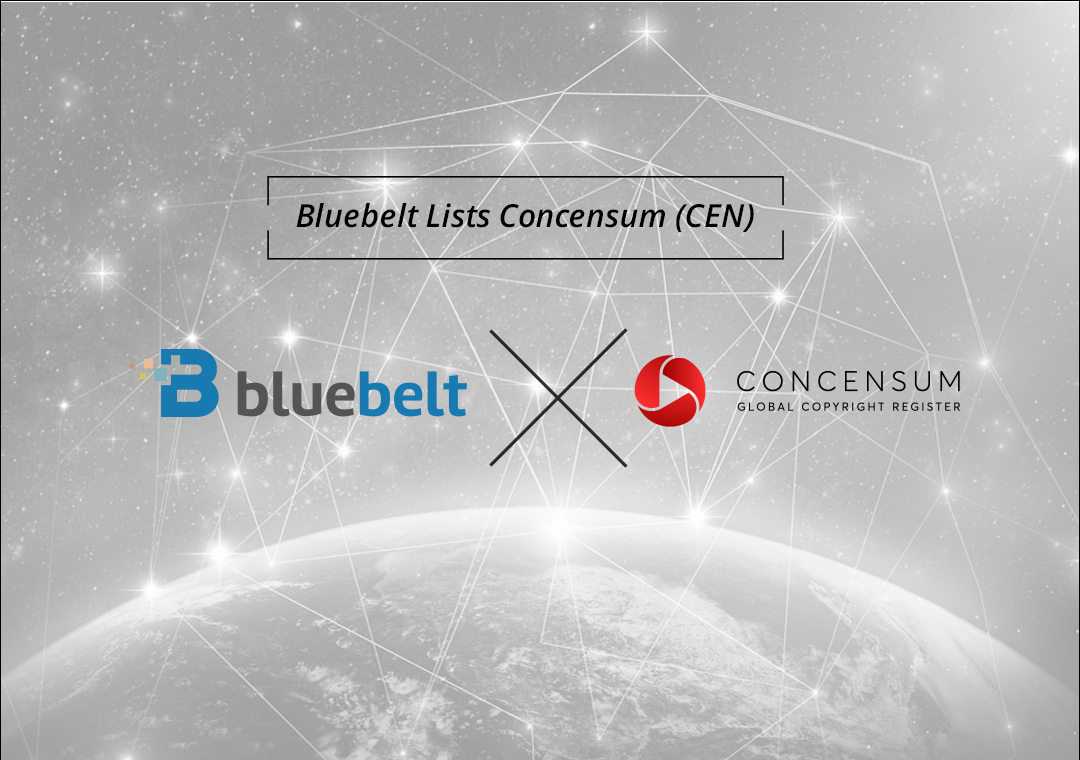 Bluebelt Lists Concensum (CEN), a Global Copyright Register that Holds Violators Accountable