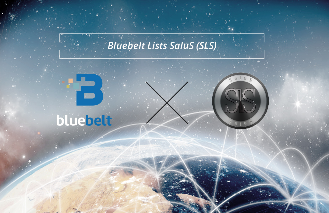 Bluebelt Lists SaluS (SLS), a Cryptocurrency Strategically Created to Increase its own Net Asset Value