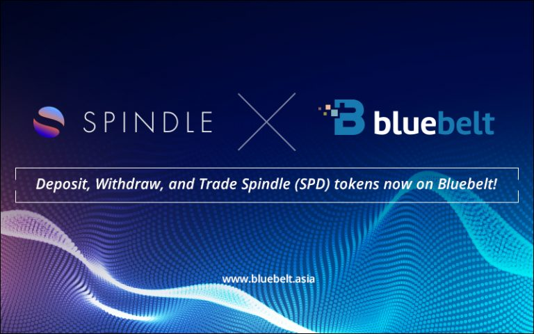 Bluebelt Opens Deposit, Withdrawal, and Trading of Spindle (SPD) Tokens