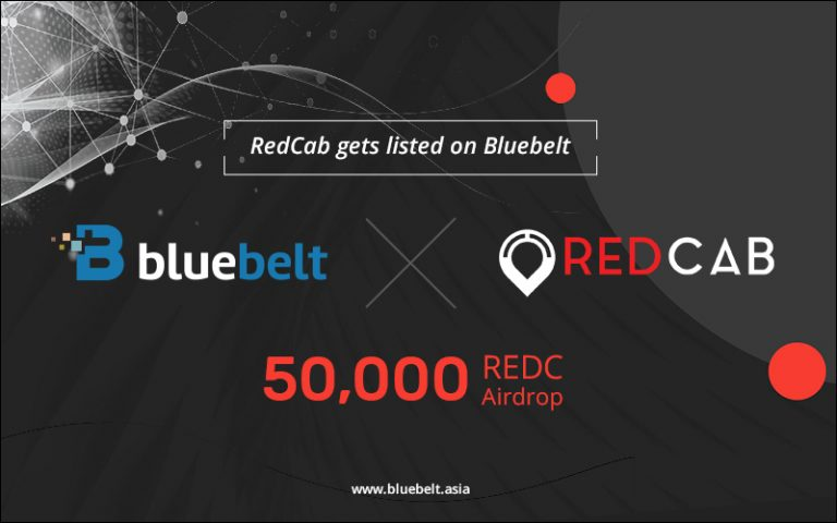 RedCab, a Transport Solutions Token, Gets Listed on Bluebelt