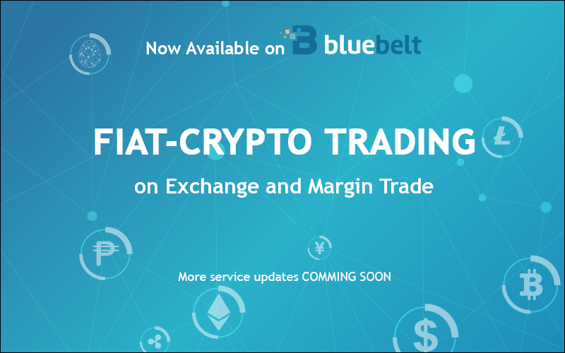 Bluebelt Opens Fiat-Crypto Trading on Exchange and Margin Trade