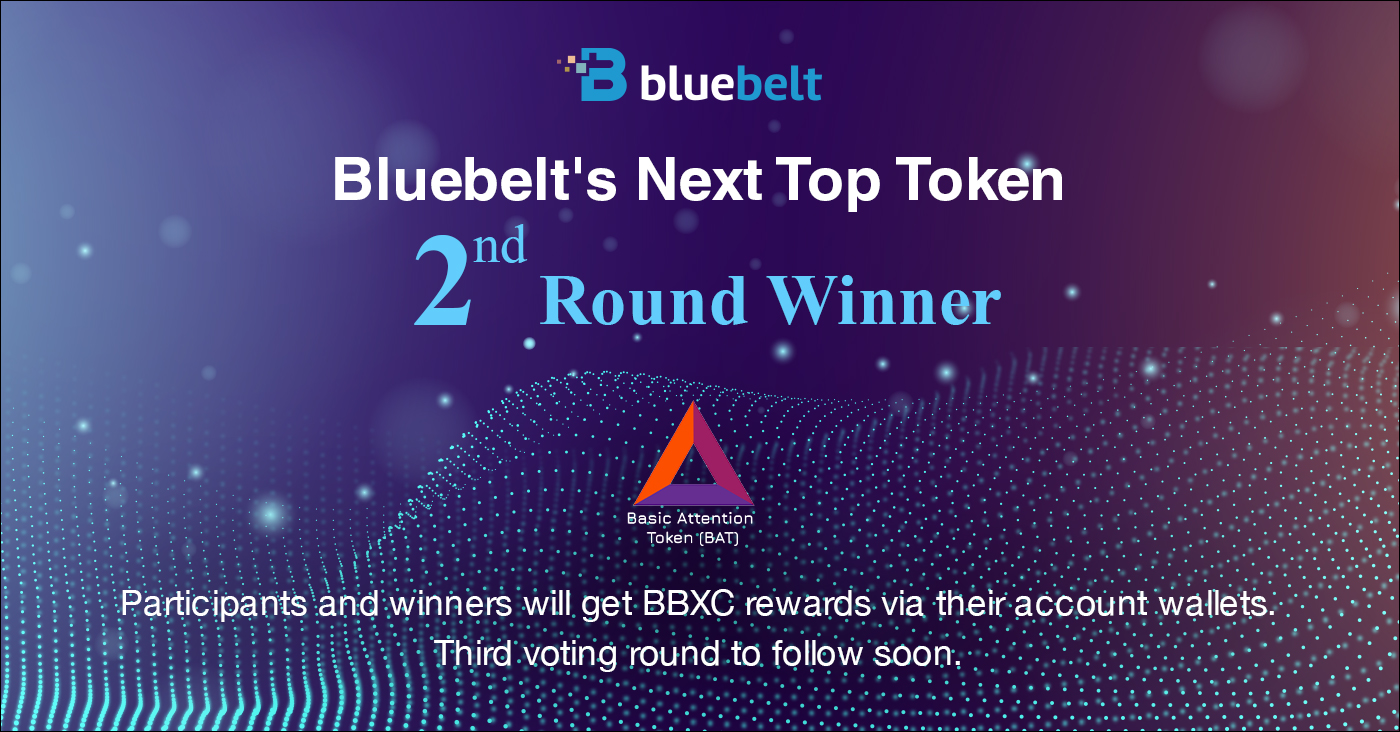 Congratulations to the Winners! Bluebelt's SECOND Next Top Token to be Listed: Basic Attention Token (BAT)!