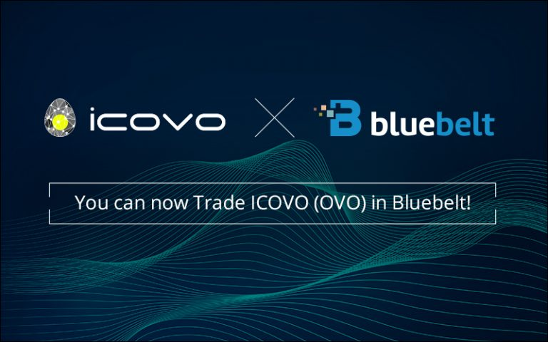You can now Trade ICOVO (OVO) in Bluebelt!
