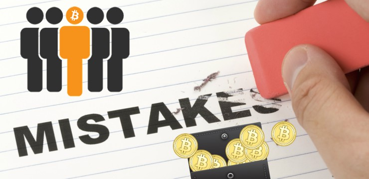 FIVE Most Common Mistakes Done by New Crypto Users
