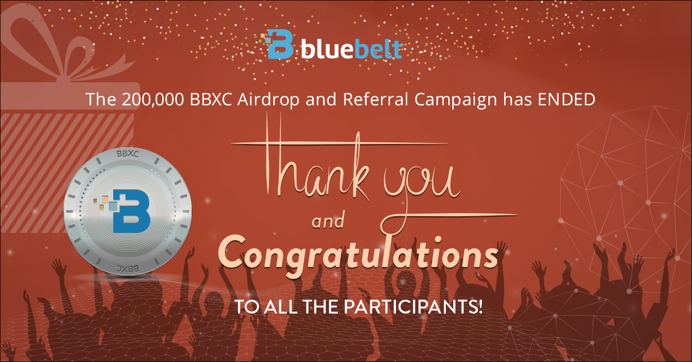 The 200,000 BBXC Airdrop and Referral Campaign has Officially Ended